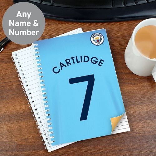 Manchester City A5 Notebook